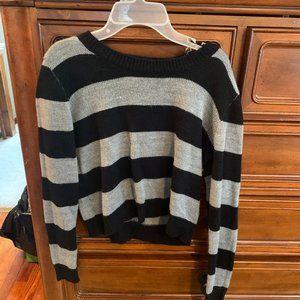 Ambiance Black & Gray Sweater